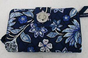 Vera Bradley RFID Turn Lock Wallet Tropics Tapestry  NWT