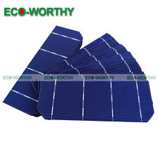 "10pcs 6""x2"" 10x1.8 15W DIY Mono Solar Cells Sun Power for Toys Battery Charging"