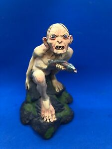 Sideshow Weta LOTR #1679/7500 Gollum Statue Two Towers Figurine COLLECTORS ED