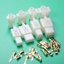 40 sets 2way 3 4 6P 2.8mm Mini Connector Kit For Motorcycle Pin Car Terminal