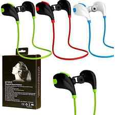 Portable Wireless Bluetooth Sport Headset Stereo Handfree For iPhone Samsung LG