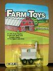 ERTL Farm Toys 1/64 IMC RAINBOW FERTILIZERS Grain Cart Wagon 603 Green 1986