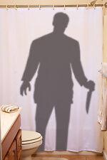 Creepy Stalker Shower Curtain Halloween Party Decoration