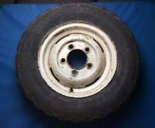 """Land Rover Discovery 1 Defender 16"""" Steel Wheel With Dunlop Tyre"""