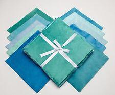 "Shades of Paradise Shannon Fabrics Minky Cuddle Cakes 10"" Precut Quilt Squares"