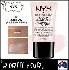 NYX Born To Glow Liquid Illuminator LI01 SUNBEAM (Pale Pink Pearl) Highlighter