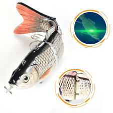 Multi Jointed Robotic Wobbler Fishing Lures 4 Segments Swimbait Electric Bait