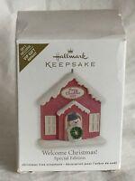 Hallmark Keepsake Ornament 2011 - Welcome Christmas! Special Edition Repaint VIP