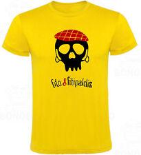 Camiseta Fito y Fitipaldis Calavera hombre, tallas y colores