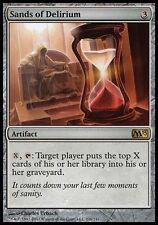 1x Sands of Delirium M13 MtG Magic Artifact Rare 1 x1 Card Cards