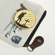 Gold Color The Great War Commemorative Coin Collection Colored Collectible Gift