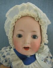 Beautiful Antique Bisque Head Character Baby-10 Inches