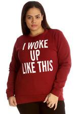 Sweatshirt, Crew Plus Size Hoodies & Sweatshirts for Women