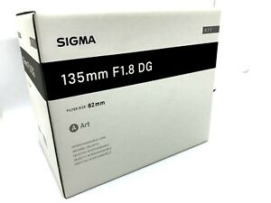 New SIGMA 135mm f/1.8 DG HSM Art Lens for NIKON F