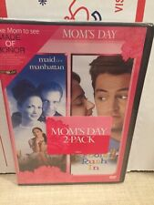 Maid in Manhattan/Fools Rush In (Mom's Day Double Feature) (DVD, PG-13)/MfgSeal