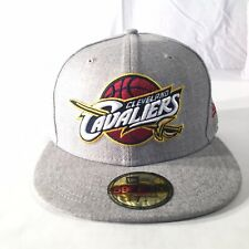 New Era 59Fifty NBA Cleveland Cavaliers Fitted 7 1/4 Hat Gray Kyrie Irving