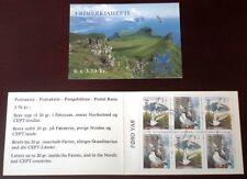 Faroe Stamp Booklet #04 1991 Arctic Tern & Kittiwake - Birds - Cto - Excellent!