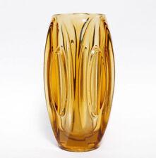 Yellow Vintage Original Art Glass