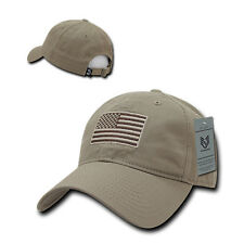 USA US American Tonal Flag Patch United States of America Polo Baseball Hat Cap