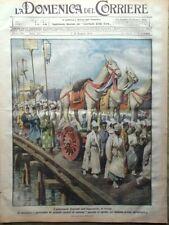 La Domenica del Corriere 8 Giugno 1919 Ragni Cavell De Palma Pessoa Bolscevichi