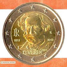 Sondermünzen Italien: 2 Euro Münze 2013 G. Verdi Sondermünze zwei€ Gedenkmünze
