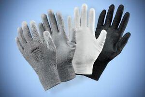 Arbeitshandschuhe PU Montagehandschuhe 1- 288 Paar Nylon Handschuhe wählbar Neu