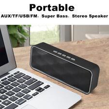 Subwoofer Bluetooth Mini Speaker Wireless Bass Outdoor Stereo Tf/Usb/Aux Radio