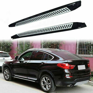 Fits for BMW X4 F26 2014-2018 Door Side Step Nerf Bar Running Board