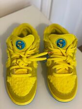 Nike SB Dunk Low X Grateful Dead Bears - Opti Yellow/Blue - UK 5.5