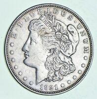 Bulk Lot - (1) 1921 P or D or S Morgan Silver Dollar 90% Eagle Rev Bullion