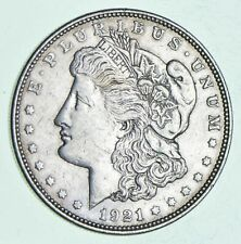 Bulk Lot - (1) 1921 P or D or S Morgan Silver Dollar 90% Eagle Rev Bullion