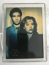 1995 TOPPS X-FILES SERIES 1 COMPLETE 72 CARD SET SCULLY, MULDER, DUCHOVNEY