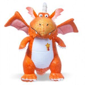 ZOG Orange Dragon Soft Toy Plush 25cm