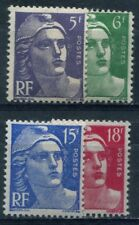 Timbre/Stamp - France -  4  Timbres  Neufs **  - 1951  - TTB - Cote:  29 €