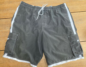Mens Swimming Shorts Marks And Spencer Blue Harbour New Pockets Lined Size Xl