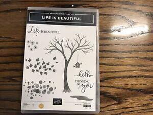 Stampin' Up LIFE IS BEAUTIFUL Stamp Set