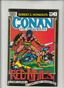Conan the Barbarian Red Nails #1 (Marvel 1982) Barry Smith  FN/VF