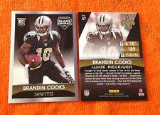 2014 Panini Black Friday RC #/499 BRANDIN COOKS Saints #37 Rookie QTY