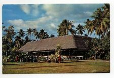 POLYNESIE TAHITI  France outre mer PUNAAVIA résidence moana nui Restaurant