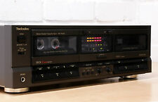 TECHNICS RS-TR255 double cassette tape deck Dolby B C Very good condition Japan