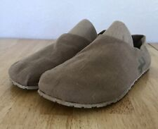 OTZ Men's Jute Espadrille Casual Slip On Linen Khaki Shoes EU 44 US 10.5