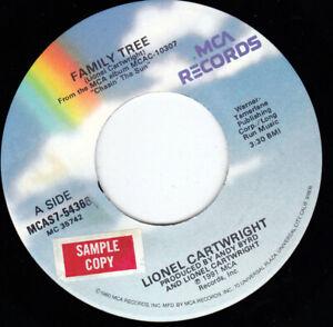 "LIONEL CARTWRIGHT - Family Tree 7"" 45"