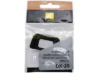 Nikon DK-20 oculare originale per D3300 D3200 D3100 D3000 D5500 D5300 D5100 ecc.