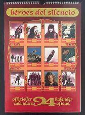 Heroes Del Silenció Libro Original De La Época Calendario 1994 Enrique Bunbury
