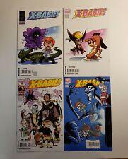 X-Babies  #1-4  Set  NM Marvel Comics 2009 Skottie Young  X-Men Wolverine Storm