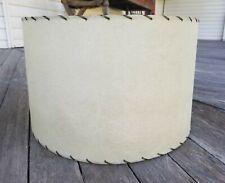 Vintage MCM Swirl Fiberglass Floor Table Lamp Drum Shade Part