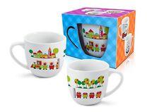 """""""Choo Choo Treno"""" divertente e colorata Tazza in ceramica per bambini 300ml regalo"""