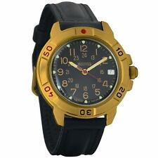 Vostok Komandirskie 439782 Mechanical Mens Military Russian Watch 24 Hour Dial
