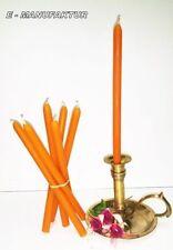 Articoli arancione per la decorazione del bagno