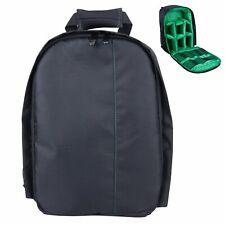 Green Camera Backpack Bag Waterproof Lens Case Rucksack for DSLR Canon EOS Nikon